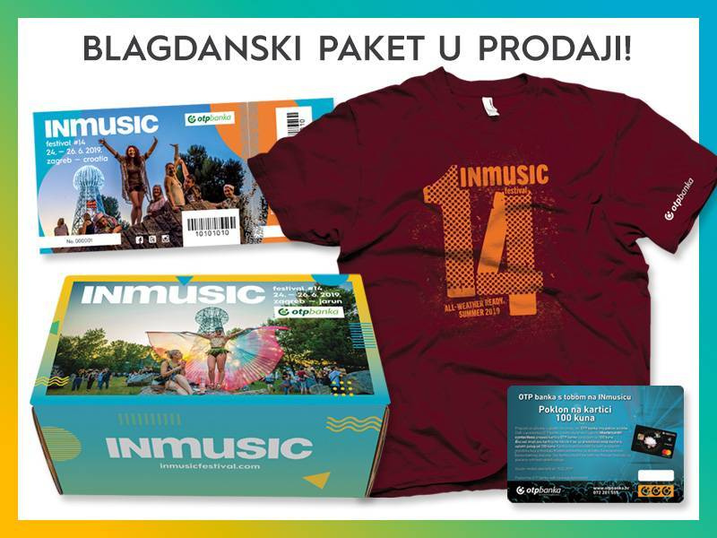 Nastavak suradnje OTP banke i INmusic festivala – u prodaji su blagdanski paketi za INmusic festival #14!
