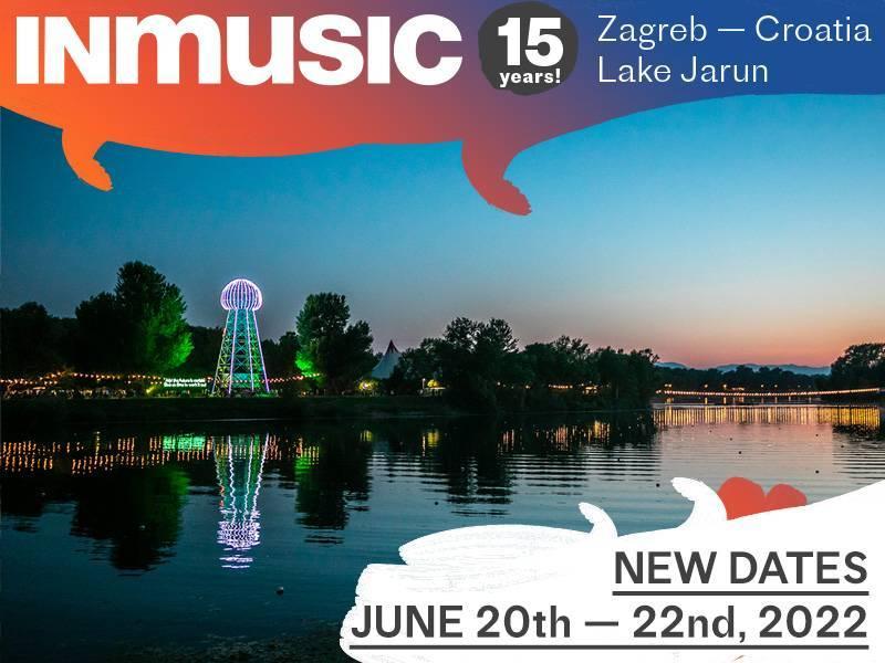 INmusic festival #15 ipak u lipnju 2022. godine