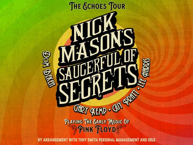 Nick Mason's Saucerful of Secrets re-scheduled tour to include postponed INmusic festival #15 dates in June 2021!