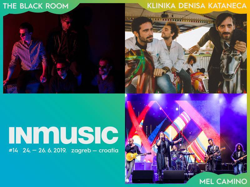 Na INmusic #14 stižu The Black Room, Klinika Denisa Kataneca i Mel Camino!