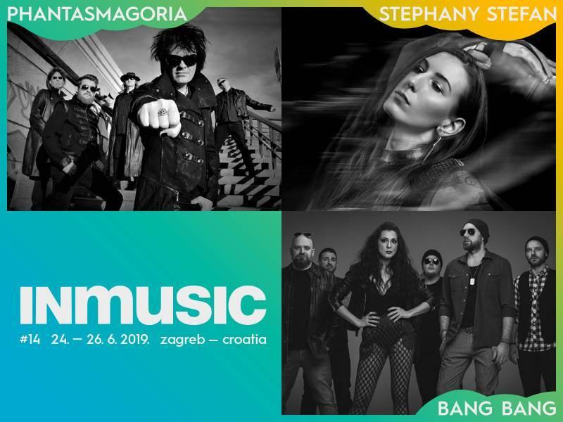 Bang Bang, Phantasmagoria i Stephany Stefan nova imena INmusic festivala #14!