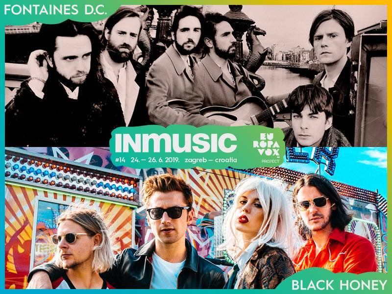 Fontaines D.C. and Black Honey are the newest names added to the Europavox stage at INmusic festival #14!