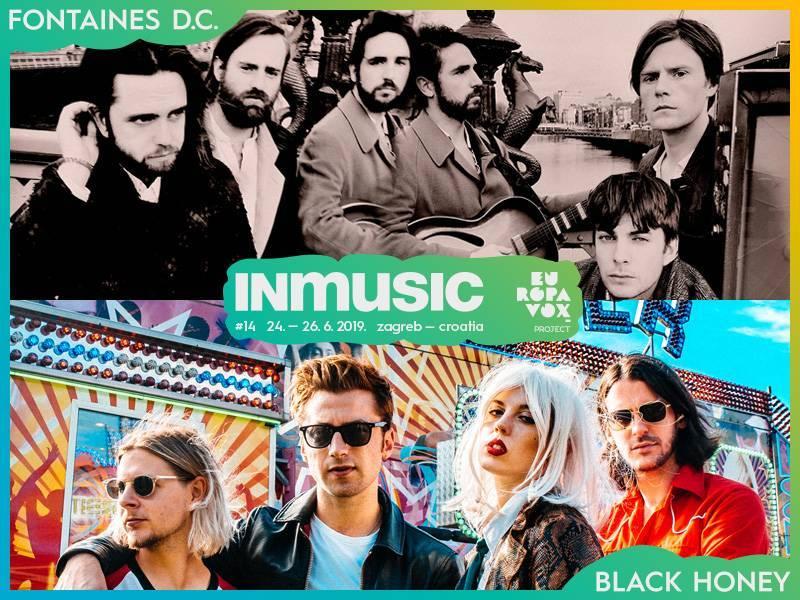 Fontaines D.C. i Black Honey nova imena Europavox stagea na INmusic festivalu #14!