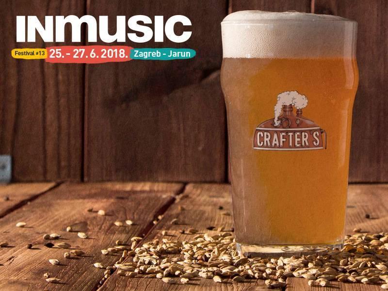 Pivovara Crafter's i INmusic festival #13 najavili suradnju i predstavili festivalsku ponudu craft piva