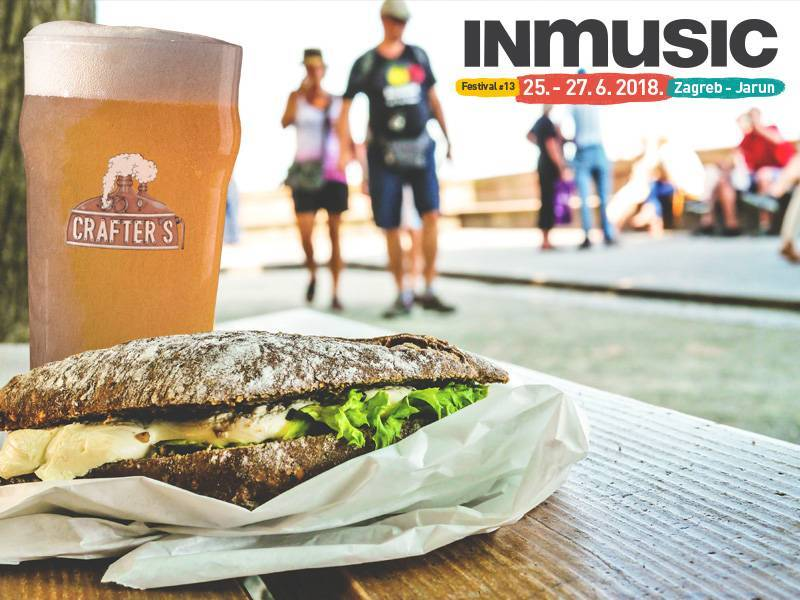 INmusic #13 beer and gourmet offer designed to satisfy every foodies taste!