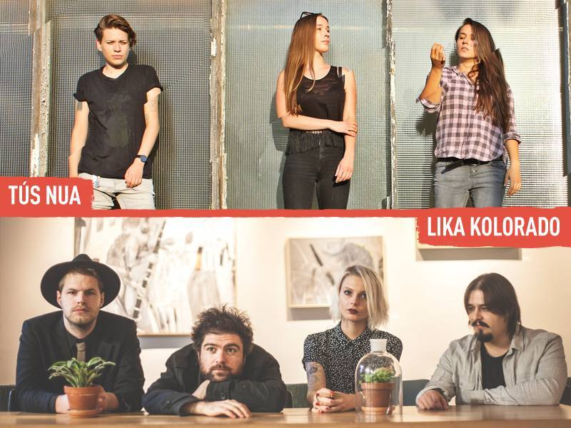 Brilliant Croatian bands Tús Nua and Lika Kolorado set to play INmusic #13!