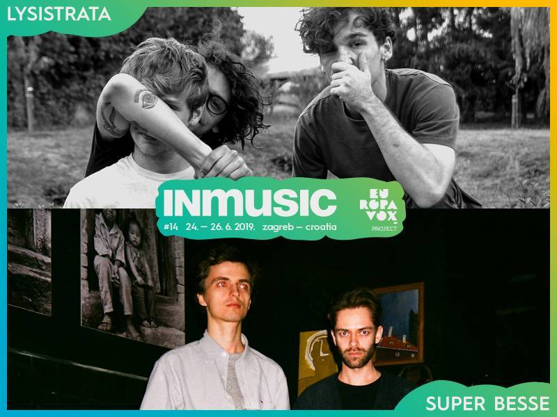 Lysistrata and Super Besse are the newest names set to play the Europavox stage at INmusic festival #14!