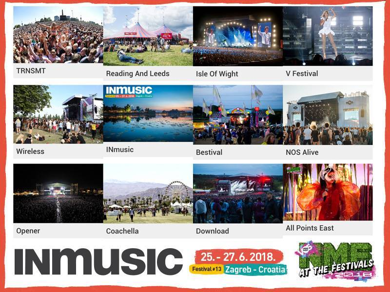 INmusic festival #13 selected as one of the most popular festivals in the world for second year in a row by NME!