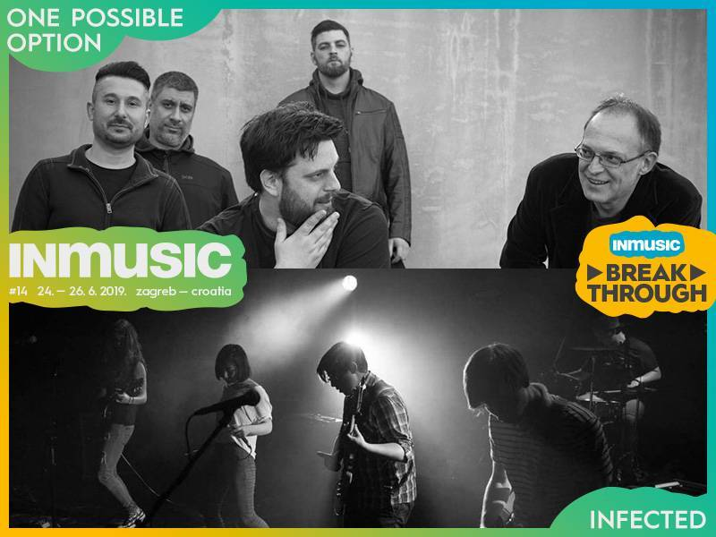 INmusic 2019: One Possible Option i Infected pobjednici natječaja INmusic Breakthrough 2019.