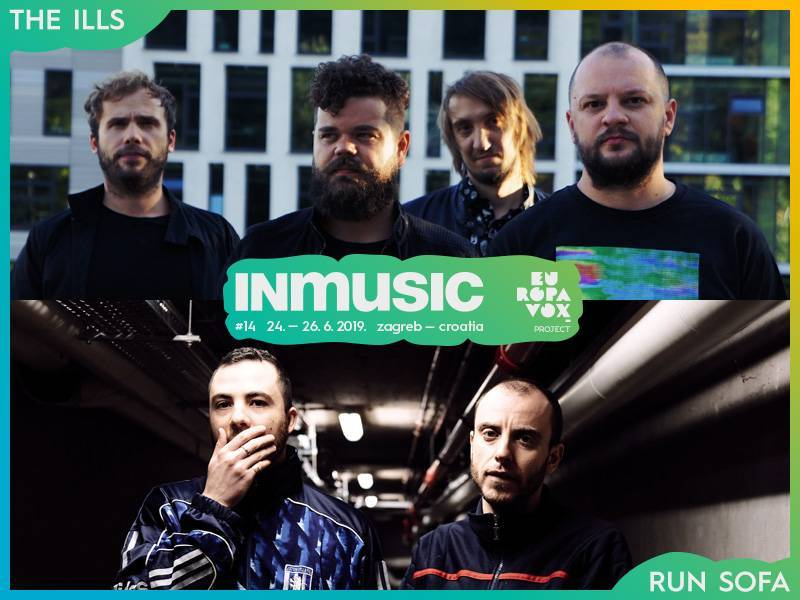 The Ills i Run Sofa nova imena Europavox stagea na INmusic festivalu #14!