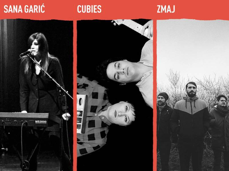 Sana Garić, Cubies and ZMaJ are joining INmusic festival #13 lineup!