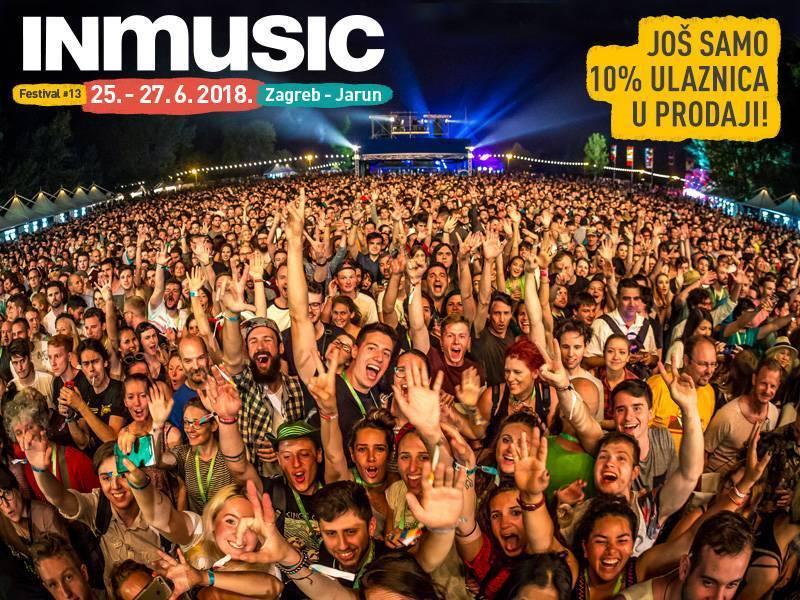 Prodano preko 90% ulaznica za INmusic festival #13!
