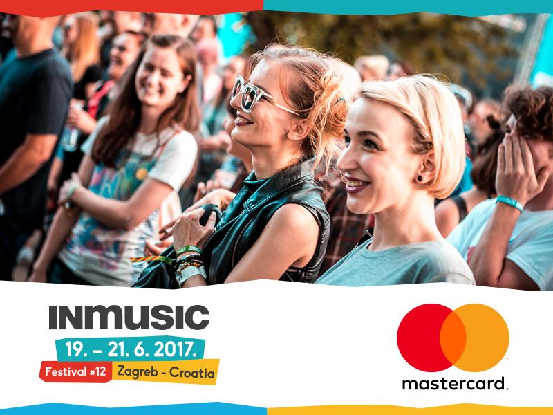 Uz kupnju Mastercard® karticama jeftinije na INmusic festival!
