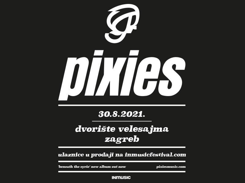 Pixies Zagreb tour date postponed for August 30th, 2021