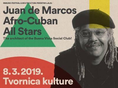 Afro-Cuban All Stars na Dan žena u Tvornici kulture!