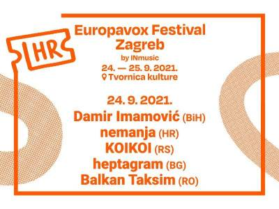 Prva večer Europavox festivala vodi nas na glazbeno putovanje suvremenim Balkanom
