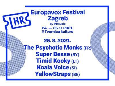 Drugi dan Europavox festivala Zagreb predstavlja  alternativni zvuk mlade Europe!