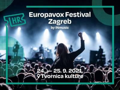 INmusic predstavlja Europavox festival u  Tvornici kulture 24. i 25. rujna