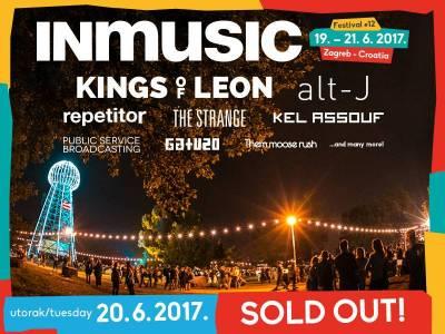 Rasprodane dnevne ulaznice za drugi dan INmusic festivala #12! Ograničeni broj trodnevnih festivalskih ulaznica još u prodaji!