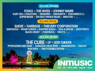 U prodaji je ograničeni broj jednodnevnih ulaznica za INmusic festival #14!