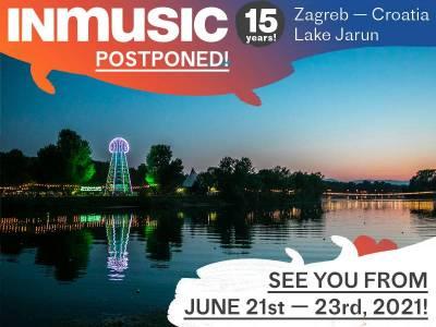 INmusic festival #15 odgođen za lipanj 2021. godine