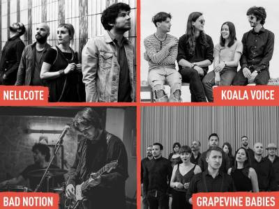 Koala Voice, BadNotion, Nellcote and Grapevine Babies set to play INmusic festival #13!