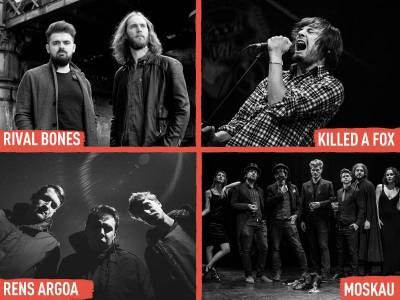 Rival Bones, Moskau, Killed A Fox i Rens Argoa pojačavaju lineup INmusica #13!
