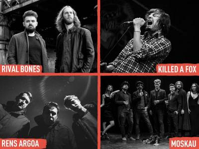 Rival Bones, Moskau, Killed A Fox and Rens Argoa join INmusic #13 lineup!