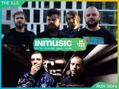 The Ills and Run Sofa are the newest names added to the Europavox stage at INmusic festival #14!