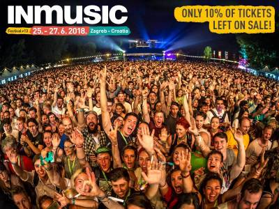 More than 90% of tickets for INmusic festival #13 is sold out!