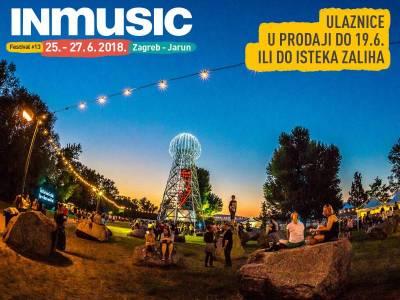 Ulaznice za INmusic #13 u prodaji samo do 19. lipnja ili do isteka zaliha!