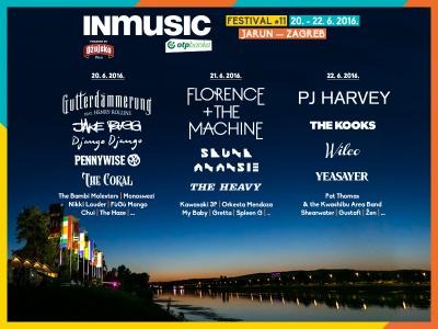 INmusic festival objavio satnicu i niz domaćih pojačanja programu
