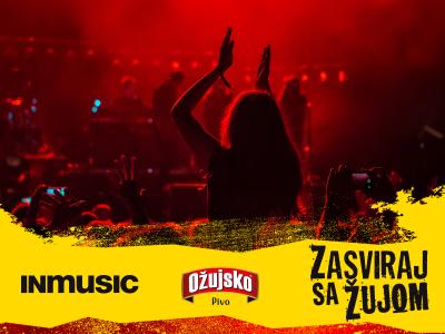 """Počele prijave za peto izdanje natječaja """"Zasviraj sa Žujom"""" u organizaciji INmusic festivala i Ožujskog piva!"""