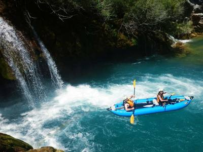 Ispod vodopada - Mrežnica