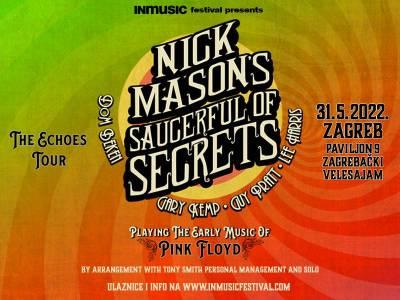 Nick Mason's Saucerful of Secrets u sklopu odgođene turneje 31. svibnja 2022. u Zagrebu!